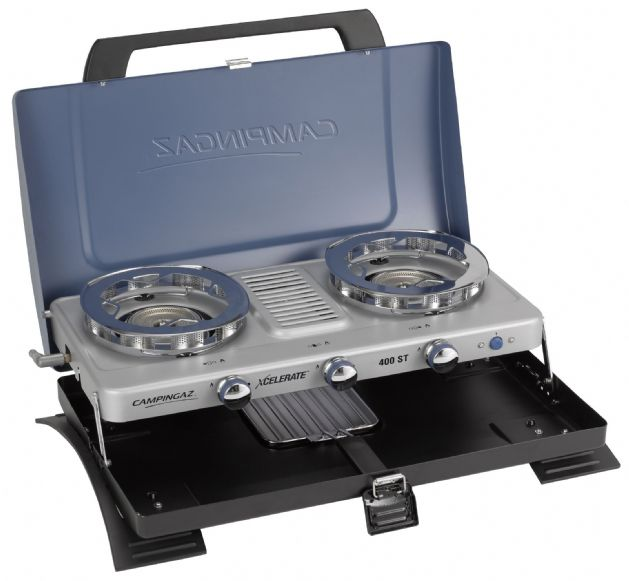 Campingaz 400 ST Double Burner & Toaster Portable Camping Stove - Grasshopper Leisure